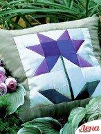 Панно  и подушка «Незабудки»