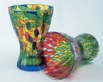 Стеклянная ваза в стиле Тиффани