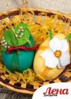 Сувенир к Пасхе: украшаем яйца