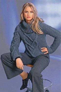 поставки одежды и обуви вязание спицами женские свитера с косами