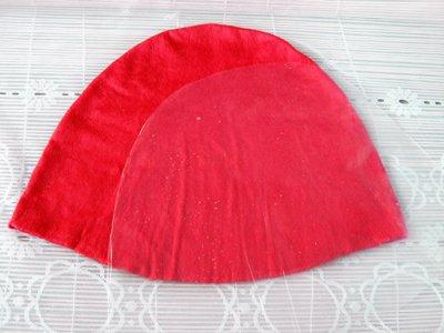 Мастер-класс по мокрому валянию из шерсти: красная банная шапочка «Клубничка»