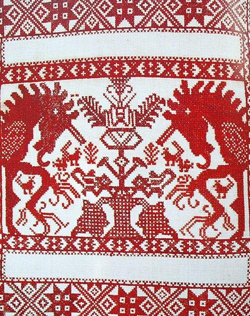 Свадебная русская вышивка