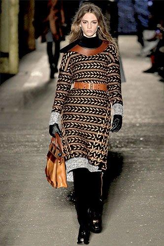 Ирэн №05 2012, мода, тенденции, зима 2013, свитер, пуловер, аранские узоры, топы, платья, RAG&&BON
