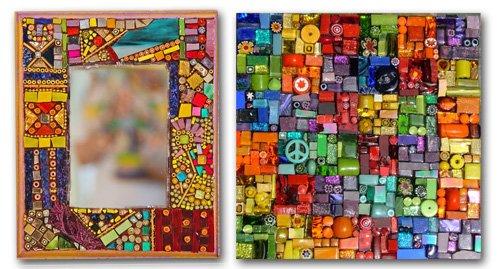 Из чего можно сделать мозаику своими руками фото 70