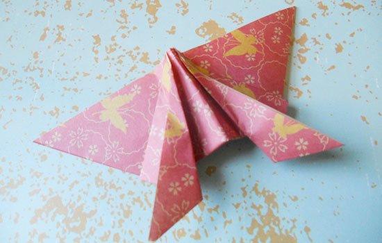 При этом оригами было не