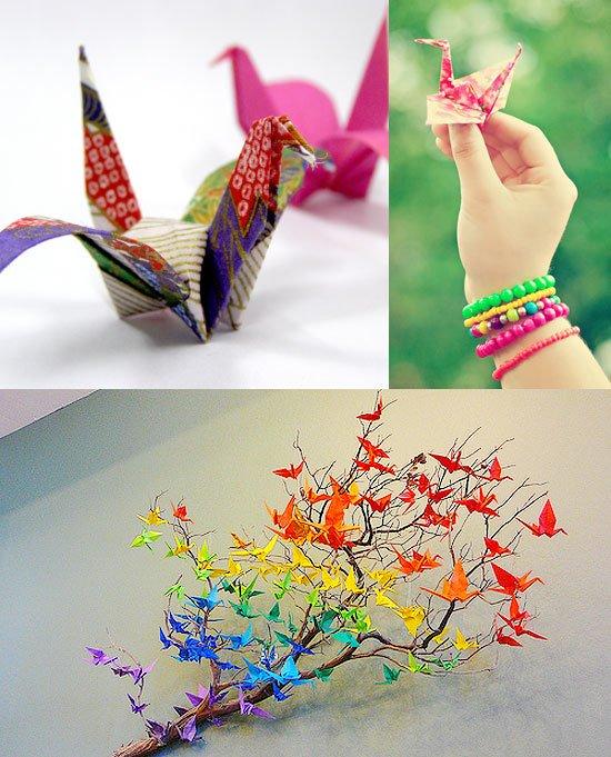 Поделки своими руками оригами журавлик