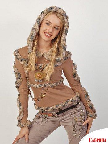 схема вязания пальто на девочку