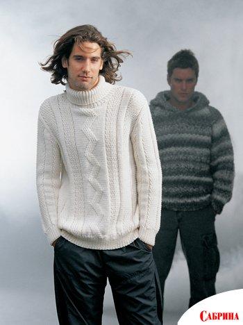 вязание спицами свитера с орнаментом. вязаные кофты с орнаментом.