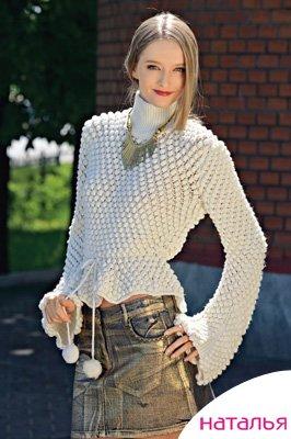 вязанные свитера фото вязание спицами.